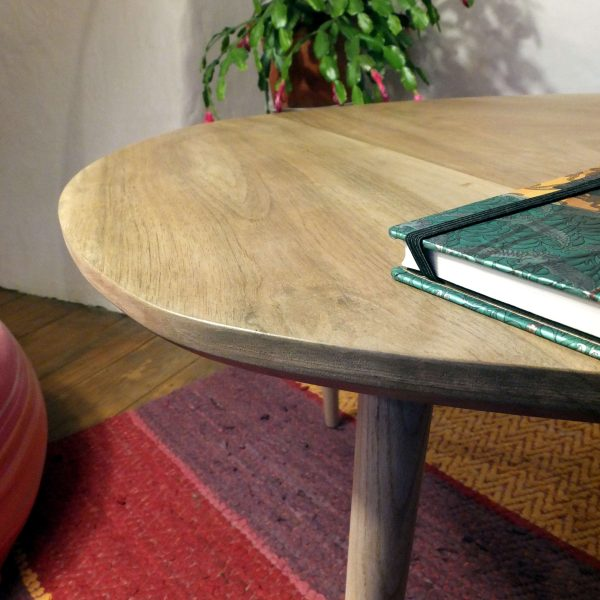 Zoom sur la table basse vintage