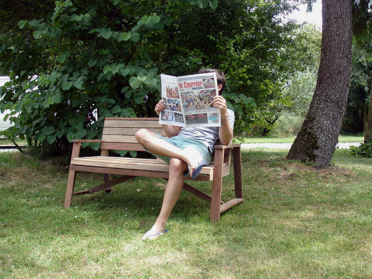 Vieux Banc De Jardin banc de jardin confortable et robuste en bois recyclé