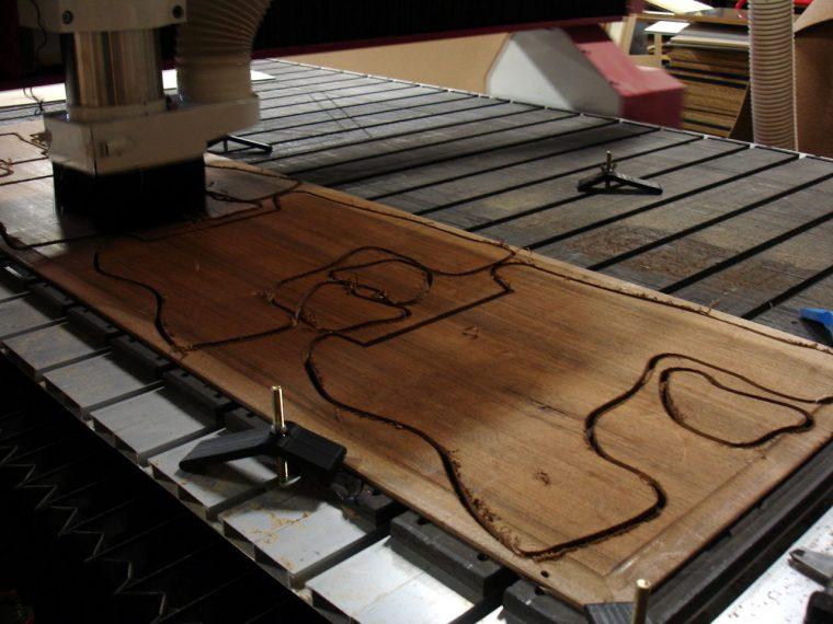 fraisage numérique du bois