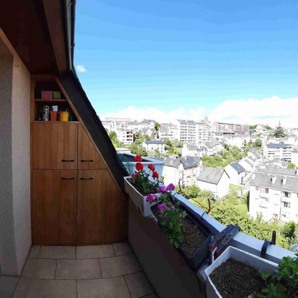 rangement de balcon